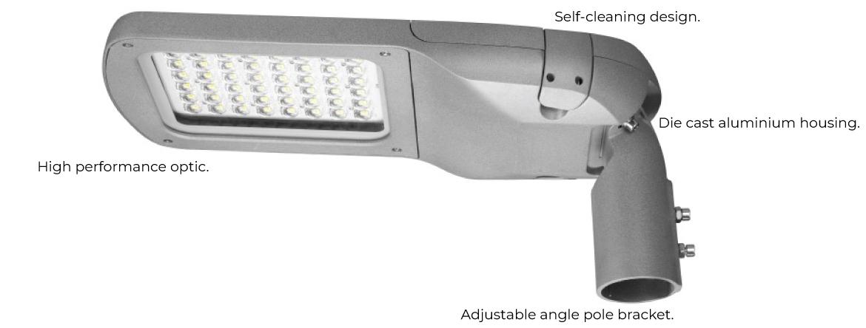 LED Streetlight - ORBIT series, from OptiTech